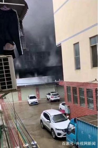 广西桂林雁山区雁山镇西龙村一民房发生火灾1